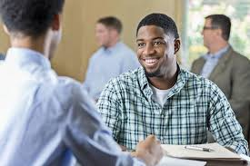 what was your biggest challenge as a student young man smiling in an interview