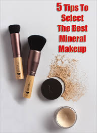 tips to select best mineral makeup