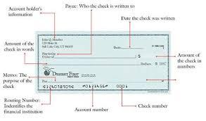 sample writing a check write a check utah education network