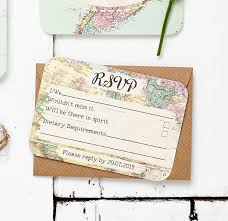 15 Elegant Map Cards For Wedding Invitations Charliequirknet