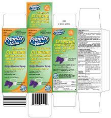 Childrens Cetirizine Hydrochloride Solution Chain Drug