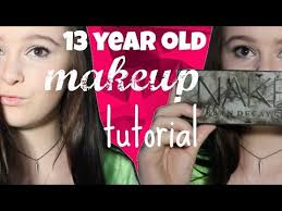 13 year old makeup tutorial