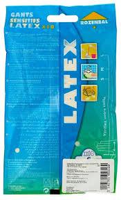 Купить <b>Перчатки ROZENBAL</b> хозяйственные латексные, 5 пар ...