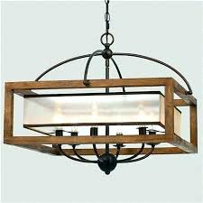rectangular wood chandelier wooden chandeliers square frame and sheer large rustic rectang