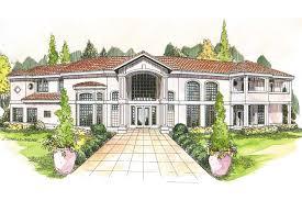 mediterranean house plans. Mediterranean House Plan - Veracruz 11-118 Front Elevation Plans