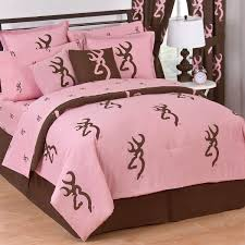 Pink Camo Bedroom Decor Browning Pink Buckmark Twin Comforter Cabin Bedding Crystal