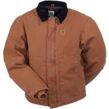 Carhartt J22BRN Brown Sandstone Traditional Quilt Lined Jacket & Carhartt Traditional Sandstone Arctic Quilt Lined Jacket J22BRN Adamdwight.com