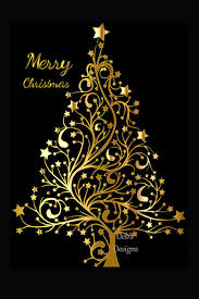 Beautiful Christmas Design Digital Christmas Card Printable Digital Christmas Card