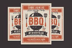 Bbq Party Flyer Vsual