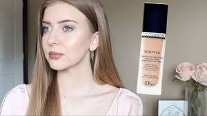 diorskin forever perfect foundation honest review first impression bination skin