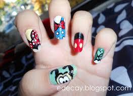disney world nail designs