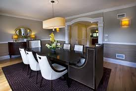 beautiful paints colors for dining rooms with chair rail