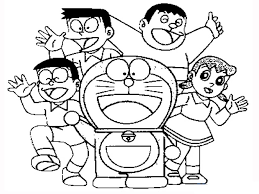 Tranh tô màu Doraemon