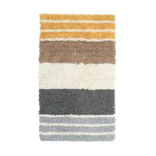 the company chunky loop marigold stripe 21 in x 34 in cotton bath