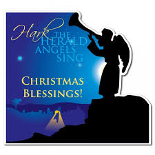 hark the herald angels sing clipart. Fine Sing Hark The Herald Angels Sing Christmas Lawn Display  Yard Sign Throughout The Clipart R