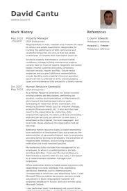 Property Manager Resume Samples Visualcv Resume Samples Database