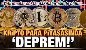 Son dakika: Kripto para piyasasında deprem! Yatırımcılar şokta, dakikalar  içinde oldu... - Ekonomi Haberleri