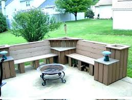 planter benches garden bench awesome articles with box tag outdoor seat potting diy plans wooden r