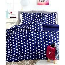 blue polka dot duvet cover 4 feturing nvy snvy bedding spolk duck egg blue polka dot