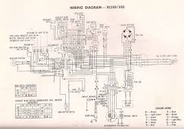 honda cl77 wiring diagram r4l xl350 wiring diagram and xl250 xl350 wiring diagram and xl250