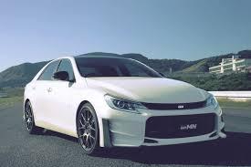 Toyota Unveils Limited 2015 Mark X GRMN in Japan - autoevolution