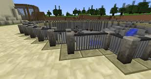 fence minecraft. Zoo Bear Pit Fence. Same Style As The Fenced Starway Before, Has Corners. Fence Minecraft G