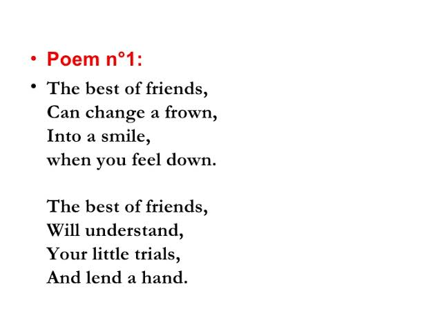 poem about best friends forever