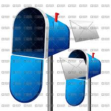 open mailbox. Open Mailbox With Letter, 1705, Vector Clipart (eps)