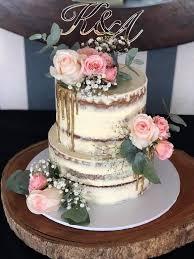 2 Tier Buttercream Wedding Cake Rimmas Wedding Cakes