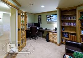 basement office ideas offices unfinished depot regarding plan home office plans decor97 home