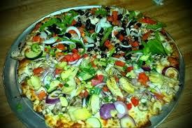 photo of round table pizza san jose ca united states veggie xl