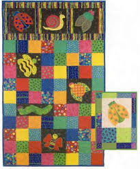 Small Picture Bugs Kids Quilt Pattern by Garden Trellis Designs at KayeWoodcom