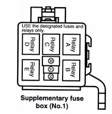 aeriostyle reloaded • view topic fog lamp installation 2005 or in the following diagram the relay is manufactured by denso part number 156700 2480 also make sure there is a fuse in position 31 it s a 15a fuse