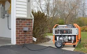 generac home generators. A Portable Generator Connected To An Inlet Box. Generac Home Generators