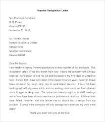Sample Professional Resignation Letter Sample Of Professional Resignation Letter Formal Resignation Letter