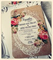 wedding invitations 21st bridal world wedding ideas and Vintage Boho Wedding Invitations vintage wedding invitations vintage bohemian wedding invitations