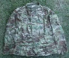 Acu Alternate Size Chart Shirts Tops Camo Combat Shirt Coat
