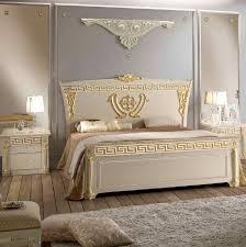 Schlafzimmer Aida Weiß Silber Belle Arti Italienische Möbel