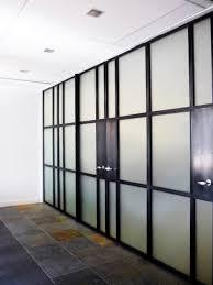 steel glass doors. Translucent-glass-wall-001 Steel Glass Doors T