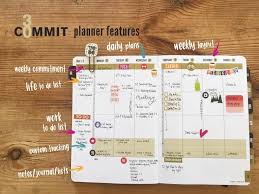 Making A Daily Planner Tips Tricks To Make The Commit30 Planner Your Own Commit30
