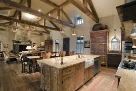 Cabin kitchen design Interior Canadian Log Homes 15 Warm Cozy Rustic Kitchen Designs For Your Cabin