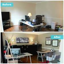 ikea small office ideas. The Perry\u0027s Home Office Is Located Adjacent To The Front Door Of Their  Home. Working Ikea Small Ideas Pinterest