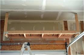 diy hanging garage shelves hanging garage shelves ceiling storage instructions home depot diy hanging garage storage