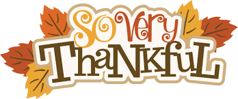 Image result for thankful clip art