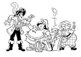 Kleurplaten Van Piet Piraat Kerst 2018