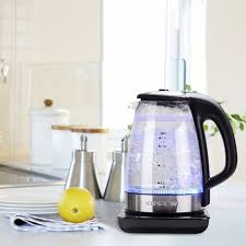 kinden glass electric kettle check