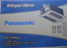 panasonic bathroom fan heater with light combo fv 11vhl2 110cfm 806294973019