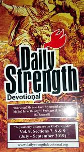 3rd Quarter 2019 Ebooks Daily Strength Devotional