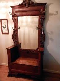 antique foyer furniture. Antique Entry Furniture Best Hall Tree Images On Art Inside Wooden Storage . Foyer