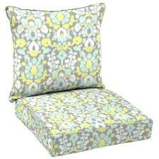 deep seat cushion set welted 2 piece deep seating outdoor lounge chair cushion set hampton bay chili red deep seat cushion set